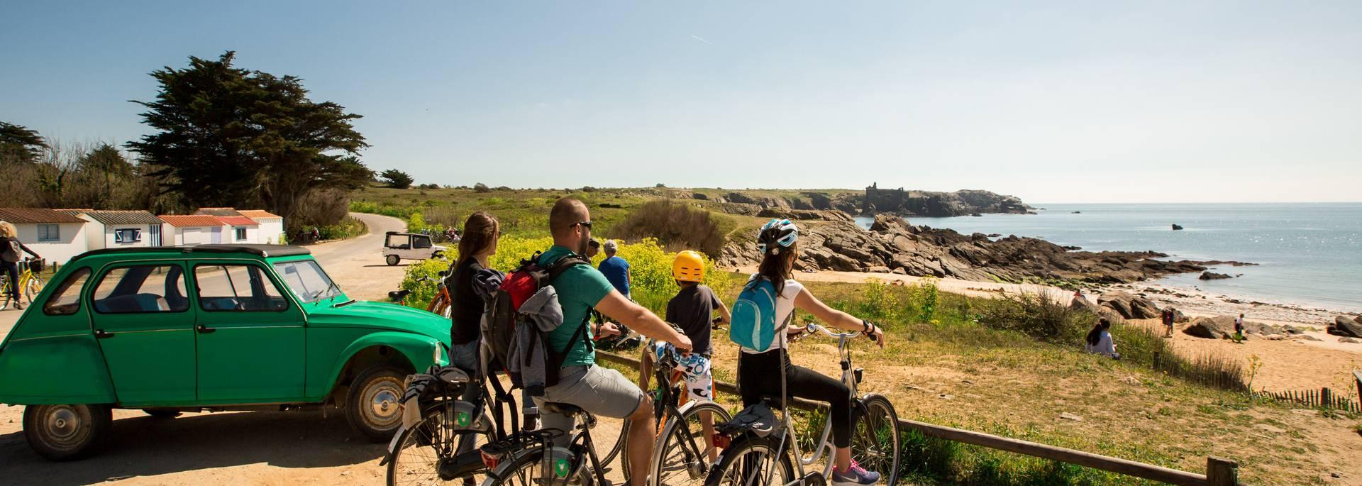 Cycling, the Ile d'Yeu