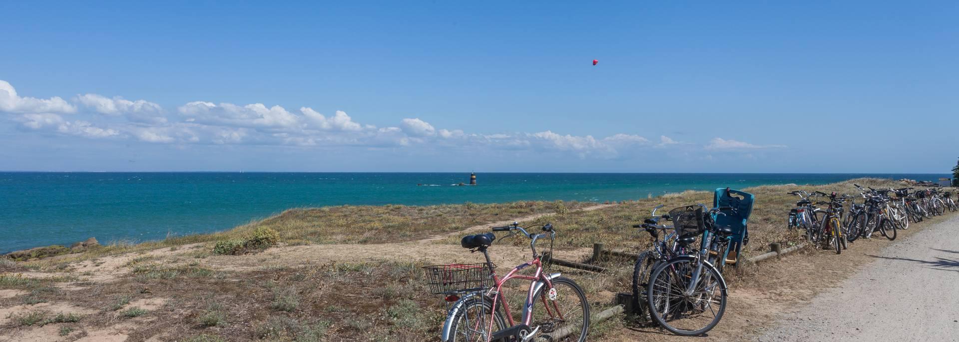 Bike riding on the Ile d'Yeu