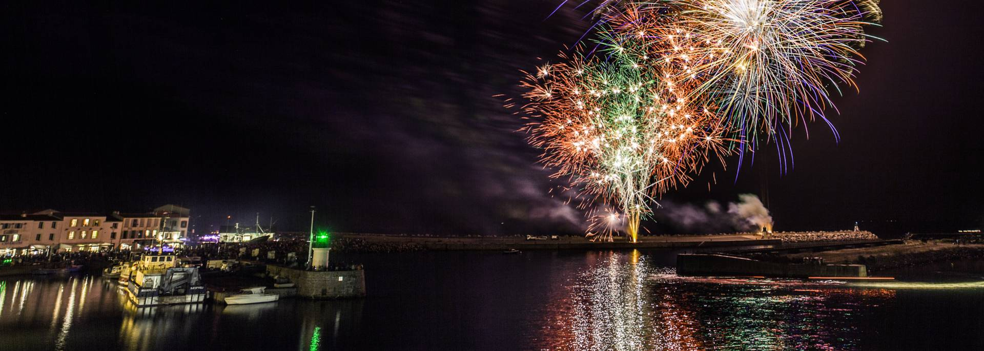 Fireworks, Port-Joinville, Ile d'Yeu