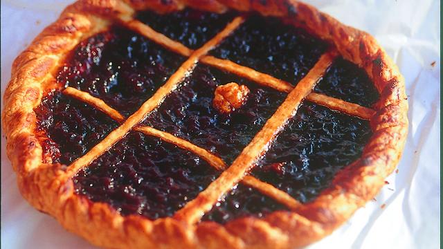 Prune tart, Ile d'Yeu