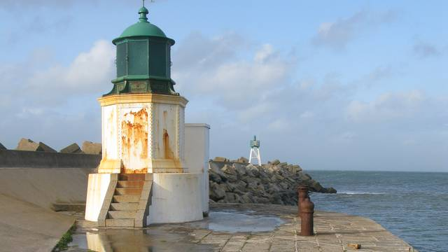 The lighthouses of L'île d'Yeu