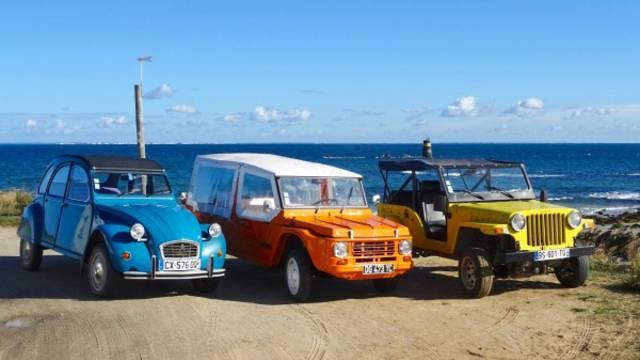Rent a vehicle on L'île d'yeu