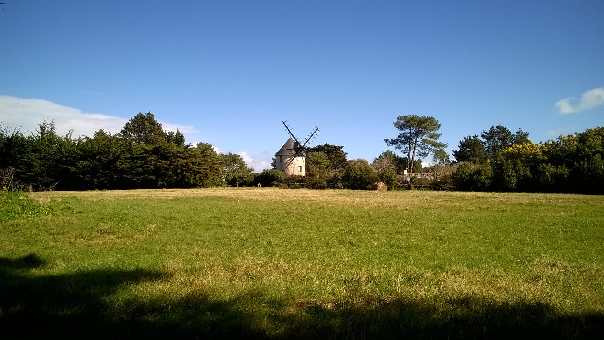 The mill at Le Calvaire, Ile d'Yeu
