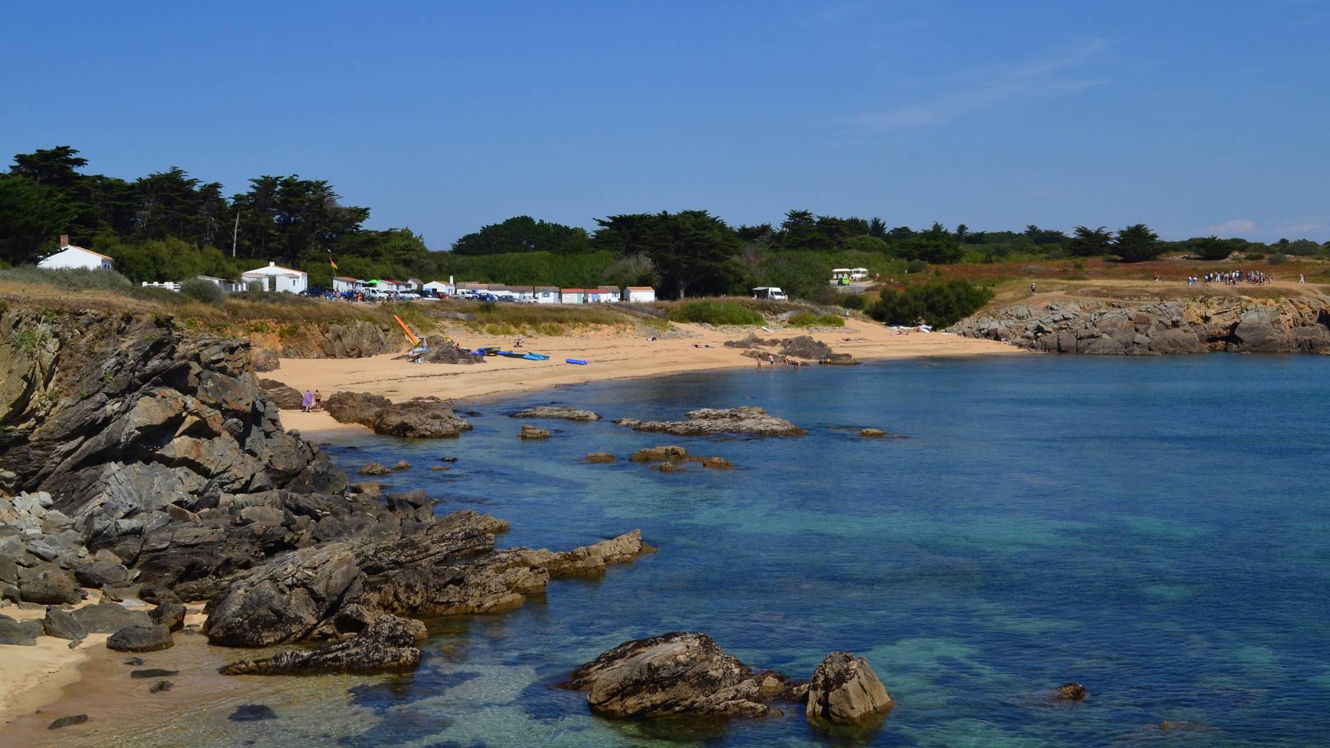 Les Sabias beach, Ile d'Yeu