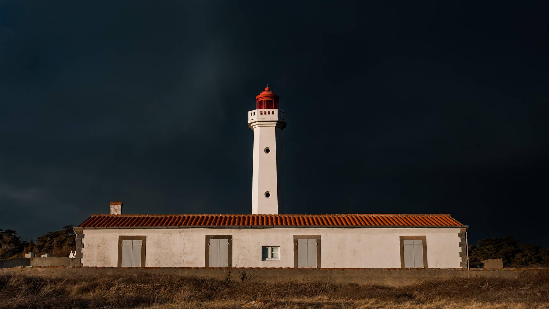 The Corbeaux lighthouse, Ile d'Yeu