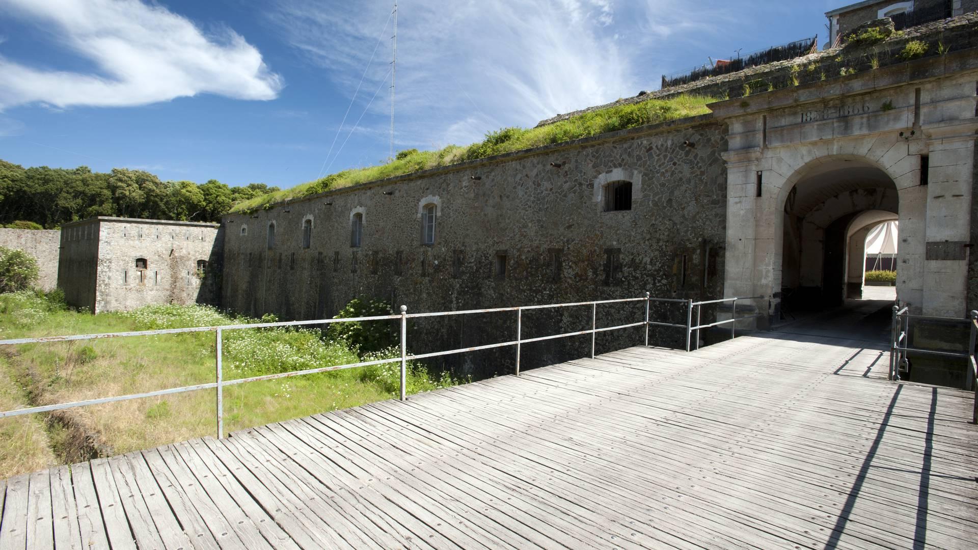 Citadelle, Fort de la Pierre Levée, Ile d'Yeu