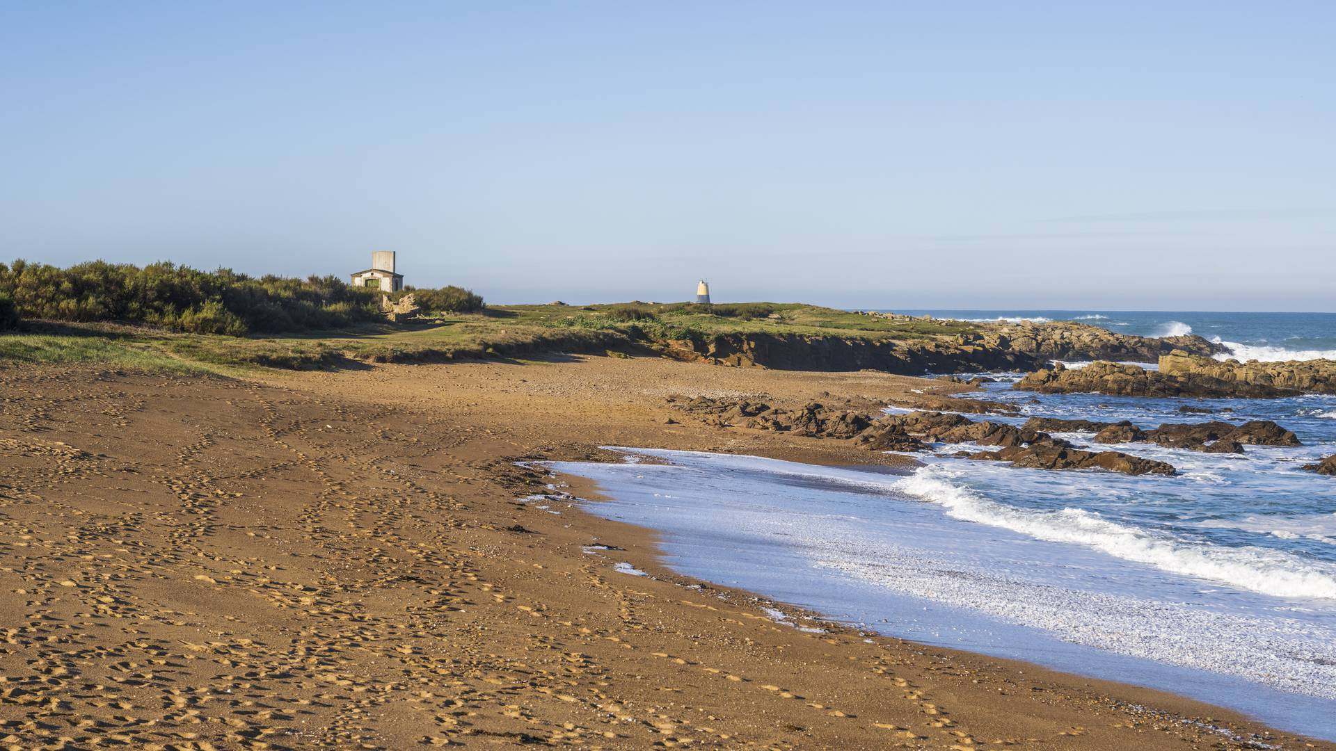 beaches of the North West coast L'ile d'Yeu