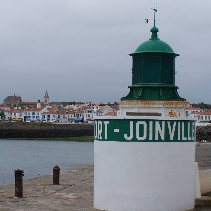 Lighthouse, Port-Joinville, Ile d'Yeu