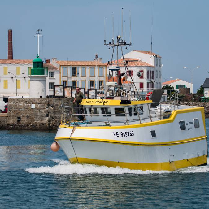 Fishing port, Port-Joinville, Ile d'Yeu