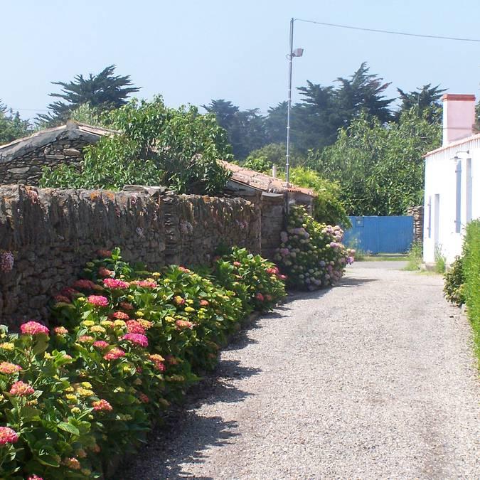 Streets of Saint Sauveur, Ile d'Yeu