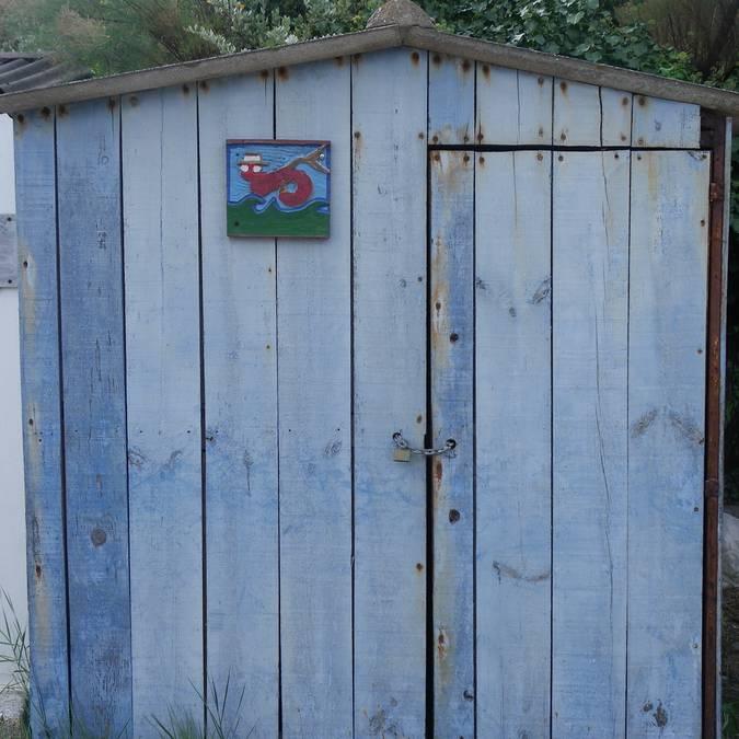 Fishing cabins, La Meule, Ile d'Yeu