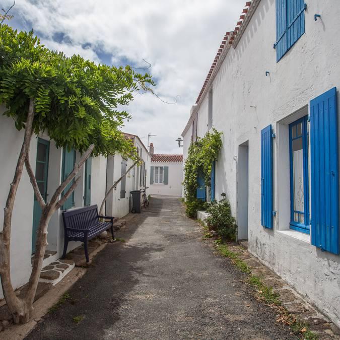 Street in Saint Sauveur, Ile d'Yeu