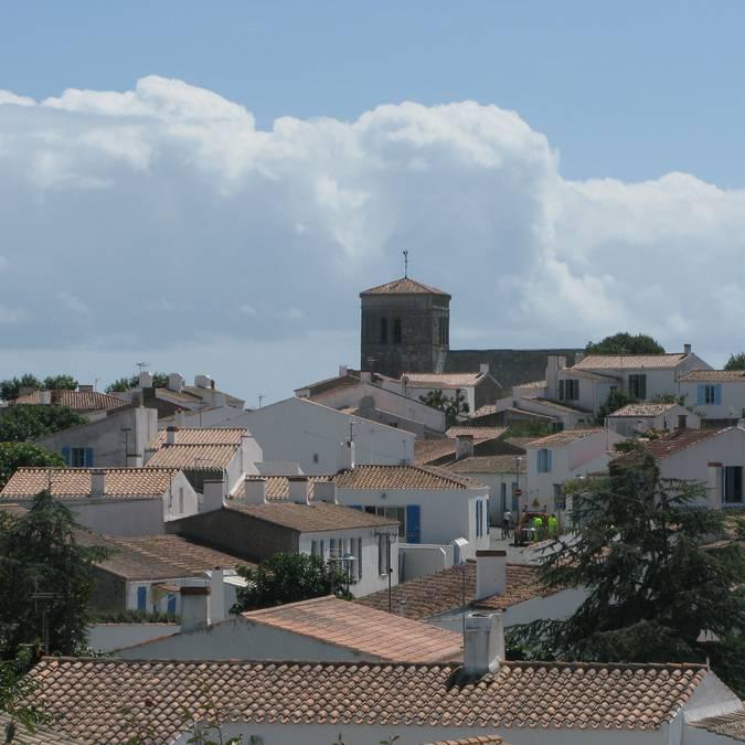 Village roofs, Saint-Sauveur, Ile d'Yeu